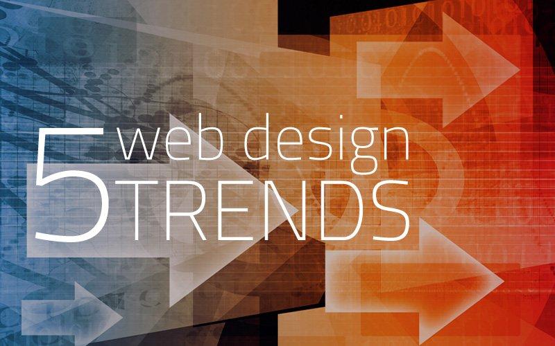 Visual articolo tendenze web design