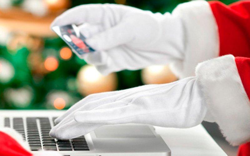 Visual articolo vendite ecommerce nelle festività