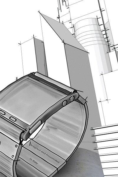 I'm Watch disegno di progetto