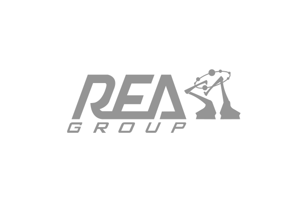 Logo brand cliente Rea Group