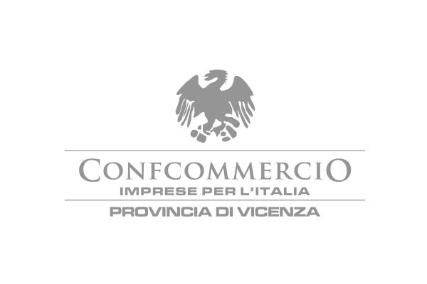 Logo brand cliente Confcommercio Vicenza