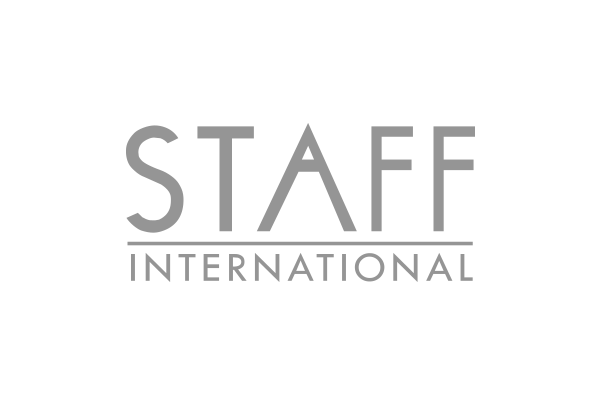 Logo brand cliente Staff International