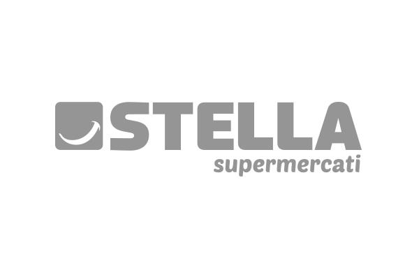 Logo brand cliente Stella supermercati