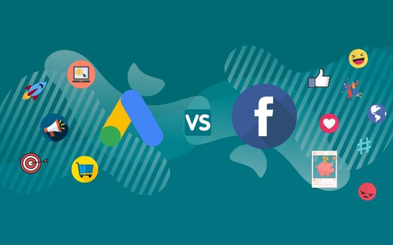 facebook ads e google ads differenze